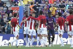 بارسلونا و تکرار رکورد نبردن در ۳ بازی پیاپی