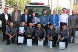 شبکه «آتش نشانان دوستدار کتاب شیراز» راه اندازی شد
