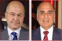 العراق: الديمقراطي يسحب مرشحه فؤاد حسين والبرلمان يرفض