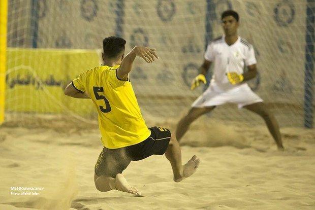 راهیابی تیم چهارمحال وبختیاری به مرحله نیمه نهایی فوتبال ساحلی