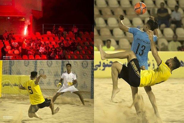 «پارس جنوبی بوشهر» مقابل «منطقه آزاد چابهار» به پیروزی رسید