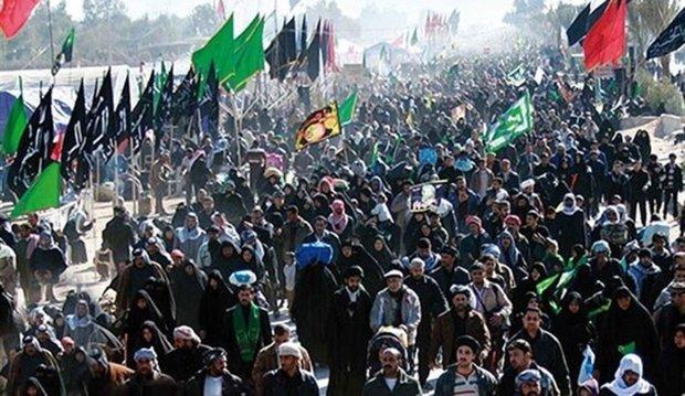 1600 اعلامي ايراني وأجنبي يغطون مراسم الأربعين الحسيني