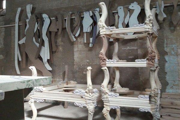۱۲۰ کارگاه مبل و منبت«دهفول» در آستانه تعطیلی/مواد اولیه کم است