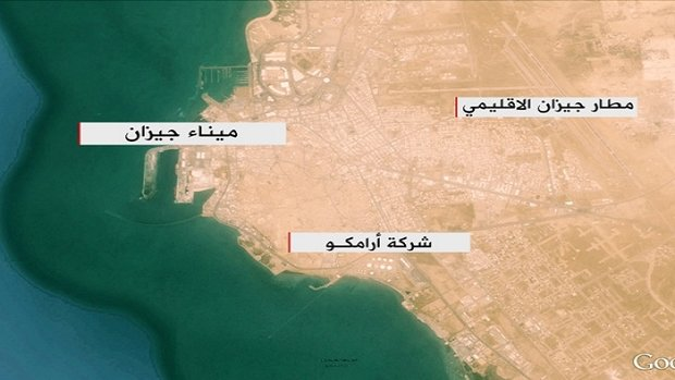 القوة البحرية اليمنية تستهدف مجموعة من زوارق حرس الحدود السعودي