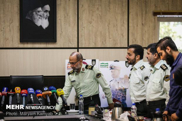 نشست خبری سخنگوی نیروی انتظامی