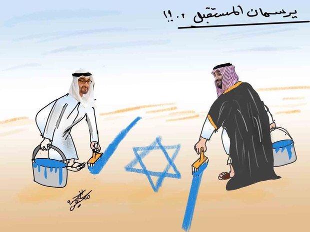 خدمات عربستان و امارات به اسرائیل