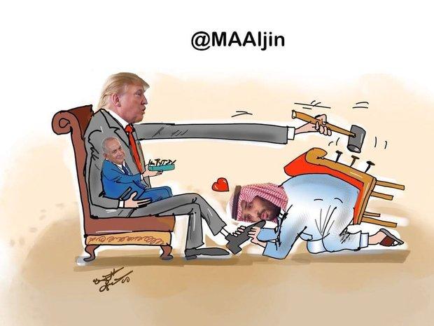 تعظیم بن سلمان به ترامپ