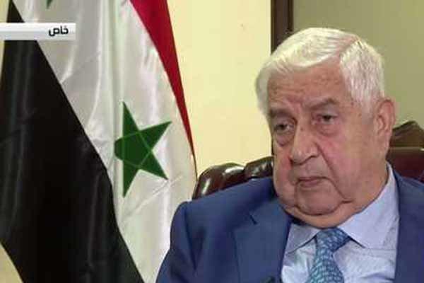 Velid Muallim:İdlib yeniden Suriye'nin kontrolüne geçmeli