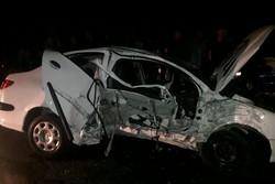 تصادف در محور اراک - شازند ۲ کشته و ۵ مجروح برجای گذاشت