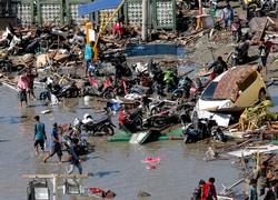 انڈونیشیا میں سونامی سے43 افراد ہلاک ، 600 زخمی