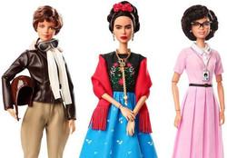 عروسک هزار چهره «باربی» در هیبت زنان قهرمان و الهامبخش