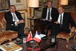 رایزنی وزیران خارجه ترکیه و فرانسه درخصوص ادلب