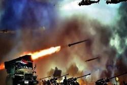 نبرد سهمگین ارتش سوریه با داعش در صحرای سویدا/  تکفیری ها زیر آتش فرار می کنند