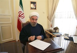 Rouhani felicitates new Iraqi pres. on election