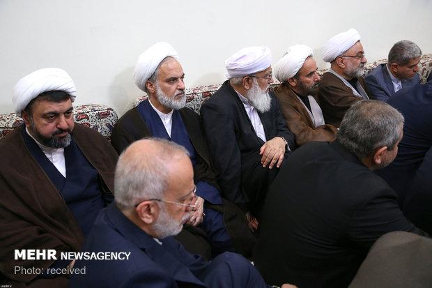 Leader receives Haj officials