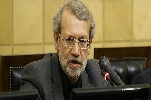 لاريجاني: الجهاز الدبلوماسي يبذل قصارى جهده لإنهاء الأزمة الاقتصادية الحالية