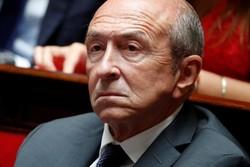 ماکرون استعفای وزیر کشور فرانسه را نپذیرفت