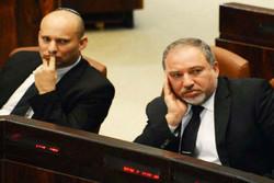 شکاف در کابینه اسرائیل/ بنت و لیبرمن به جان هم افتادند