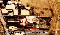 محل اصابت موشکهای سپاه به مقر تروریست های داعشی