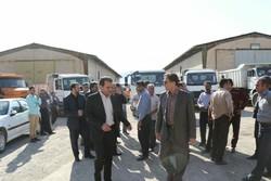 اعزام کامیونهای دستگاههای اجرایی به بندر امام(ره) برای انتقال کالاهای لرستان
