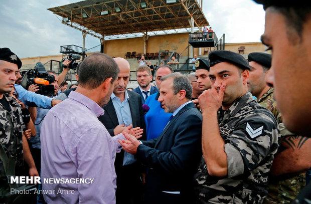 بازدید سفرای کشورها از مراکز موشکی ادعایی نتانیاهو در بیروت