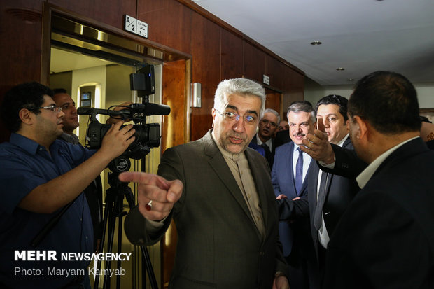 Iran, Syria energy ministers meet, sing document