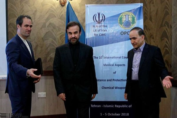 Iran urges intl. community to persuade Israel to destroy chemical arsenal