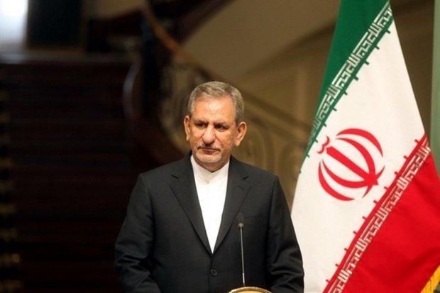 Iran 1st VP felicitates Christians on New Year