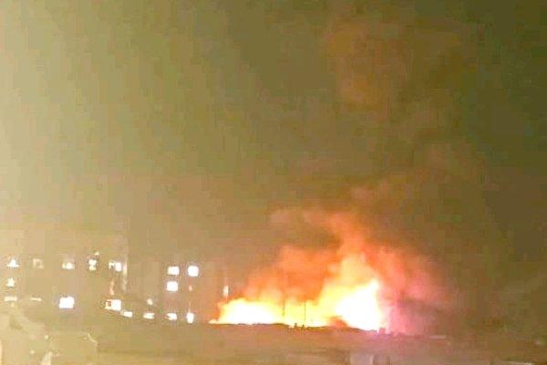 روس میں آتشزدگی کے نتیجے میں 8 افراد ہلاک