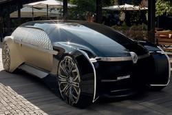 لوکس ترین خودروی خودران برقی رنو تولید شد