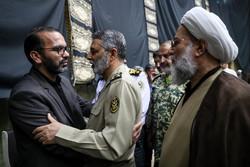 مراسم تكريم شهداء الإعتداء الارهابي في الأهواز / صور