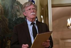 بولتون: تا جایی که بتوانیم به ایران فشار میآوریم!