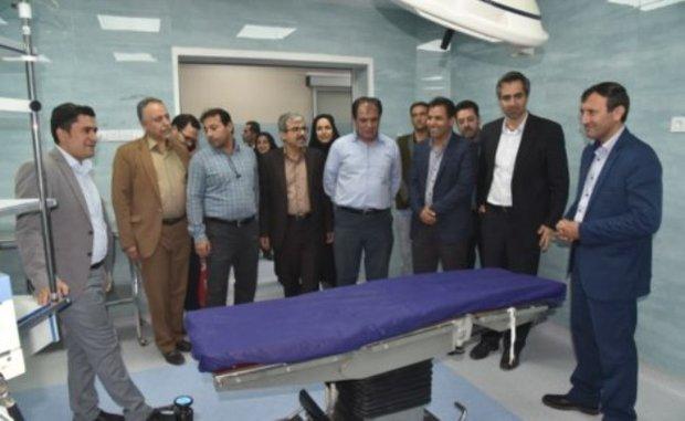 توسعه خدمات بیمارستان حضرت علی اصغر(ع) با افتتاح ۳ بخش بهسازی شده