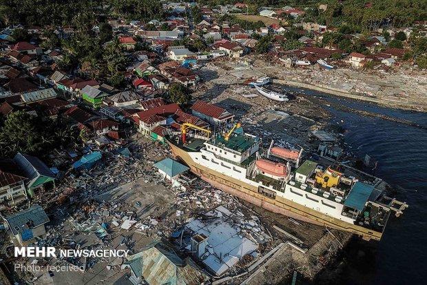 """ارتفاع عدد ضحايا """"تسونامي"""" إندونيسيا إلى 168 قتيلا و745 مصابا"""
