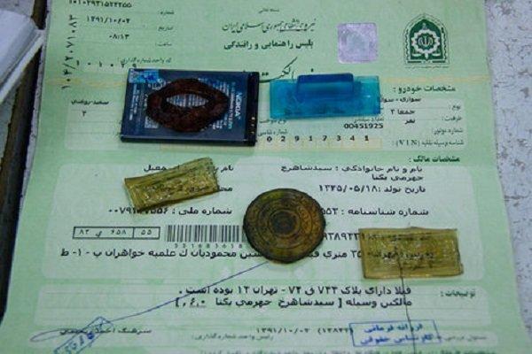دستگیری جاعل اسناد دولتی در گلپایگان