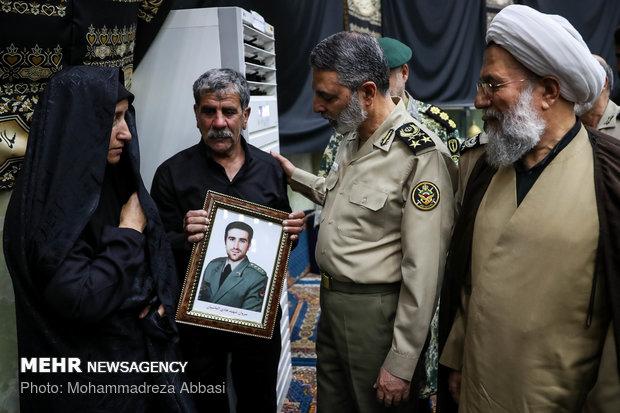 مراسم تكريم شهداء الإعتداء الارهابي في أهواز