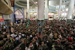 ۱۴۵۰۰ زنجانی در راه اربعین