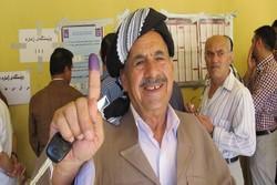 نتایج اولیه انتخابات اقلیم کردستان عراق اعلام شد