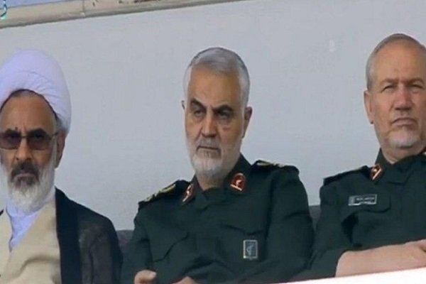 جنرل قاسم سلیمانی کا آزادی اسٹیڈیم میں  رضاکار فورس کے اجتماع میں حضور
