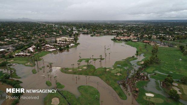 طوفان رزا در آمریکا