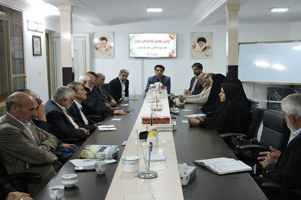 بانک جامع اطلاعات نخبگان شهرستان فردوس تهیه می شود