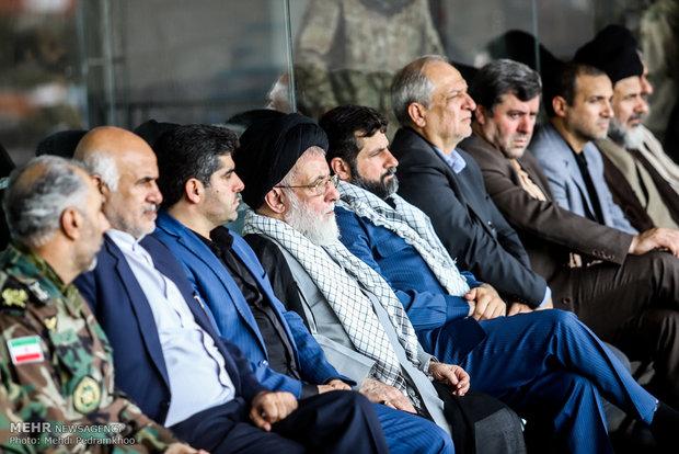 بزرگ ۳۰۰۰۰هزارنفری ونمایش اقتدارعاشورایی بسیج یان حضرت محمدرسول الله (ص)