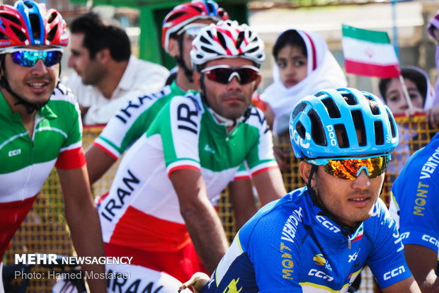 5th stage of the Cycling Tour of Iran