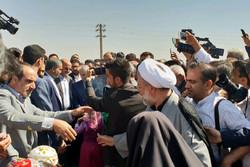معاون رئیس جمهور به مقام شامخ شهدای روستای خیارج ادای احترام کرد