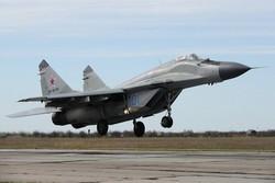 Moskova yakınlarında MiG-29 savaş uçağı düştü