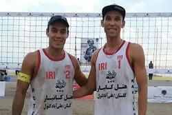 ایران (۱) قهرمان تور جهانی والیبال ساحلی بندرترکمن شد