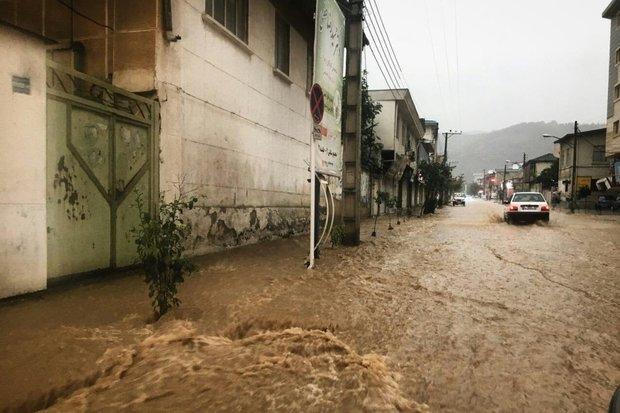 İran'da şiddetli yağmur etkili oldu
