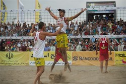 Iran claims title of FIVB Beach Volleyball World Tour in Bandar Torkaman