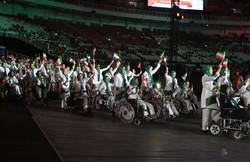 مراسم افتتاحیه سومین دوره بازیهای پاراآسیایی