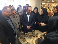 First permanent handicrafts exhibit opens in northern Iran